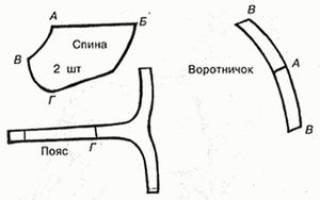 Принципы построения выкроек для одежды для собак мелких пород своими руками, таких как чихуахуа